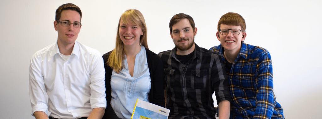 Team Maier vom 9. TANNER Hochschulwettbewerb