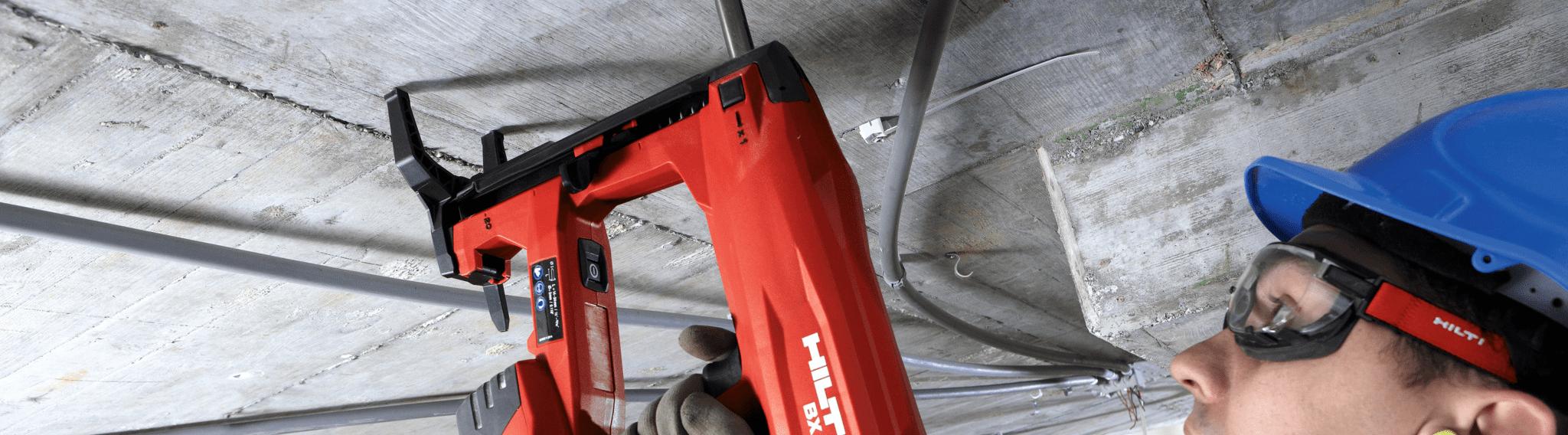 Referenzen HILTI AG Bauarbeiter