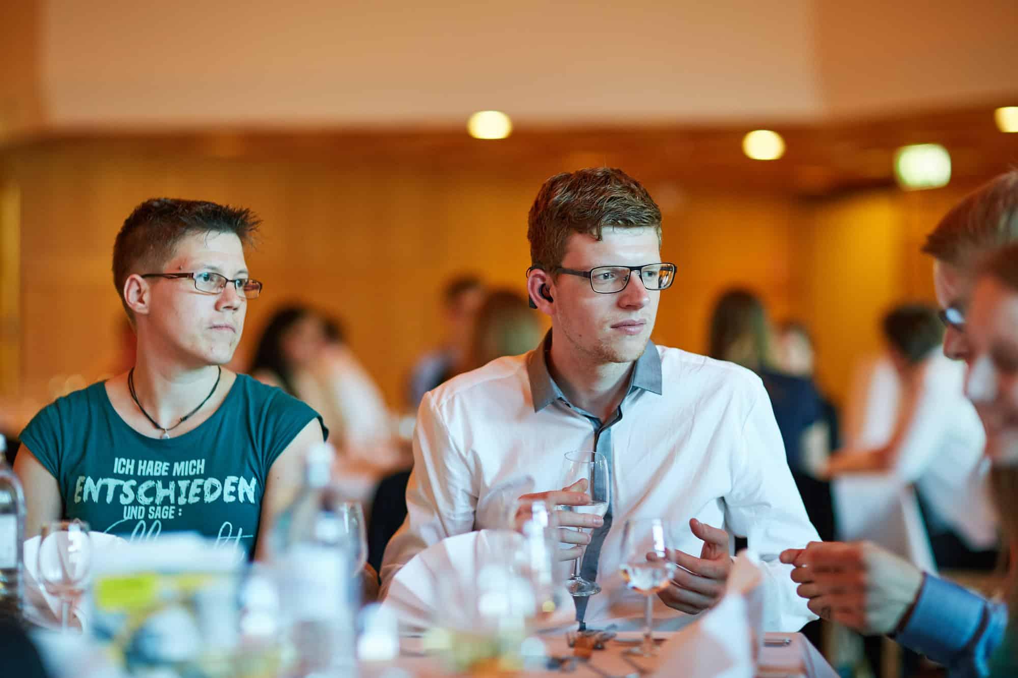 Impression von der Preisverleihung beim 11. TANNER-Hochschulwettbewerb