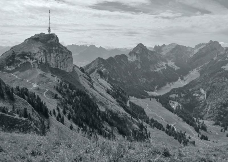 Hoher Kasten und Alpstein Schweiz