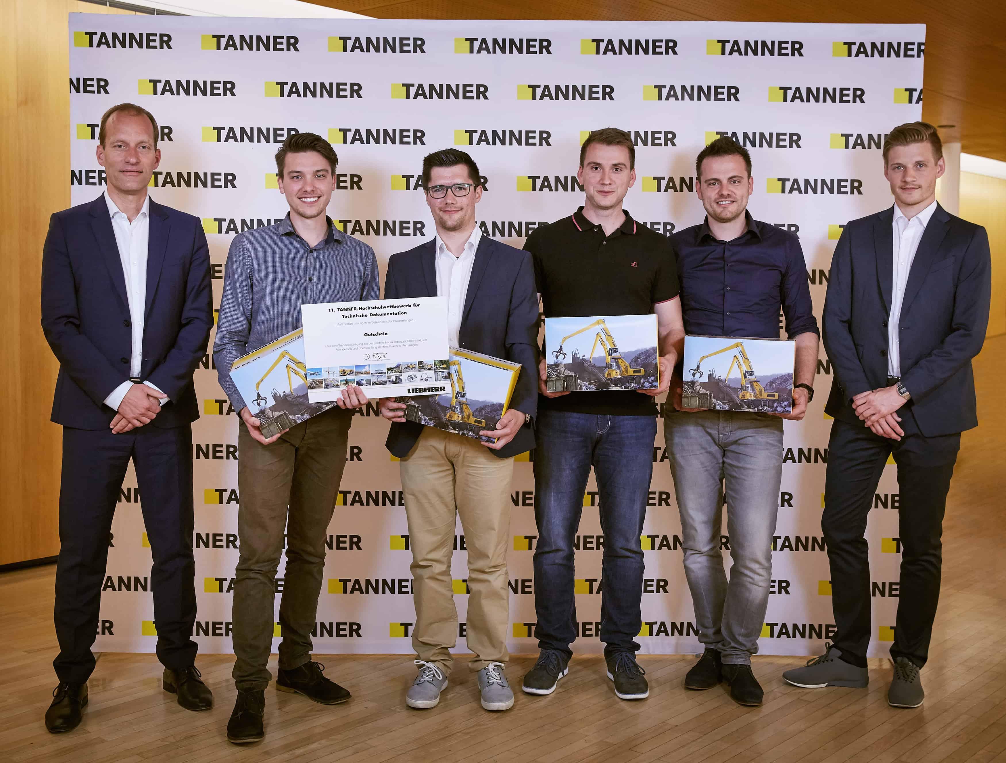 TANNER Hochschulwettbewerb mit Liebherr Team Aalen