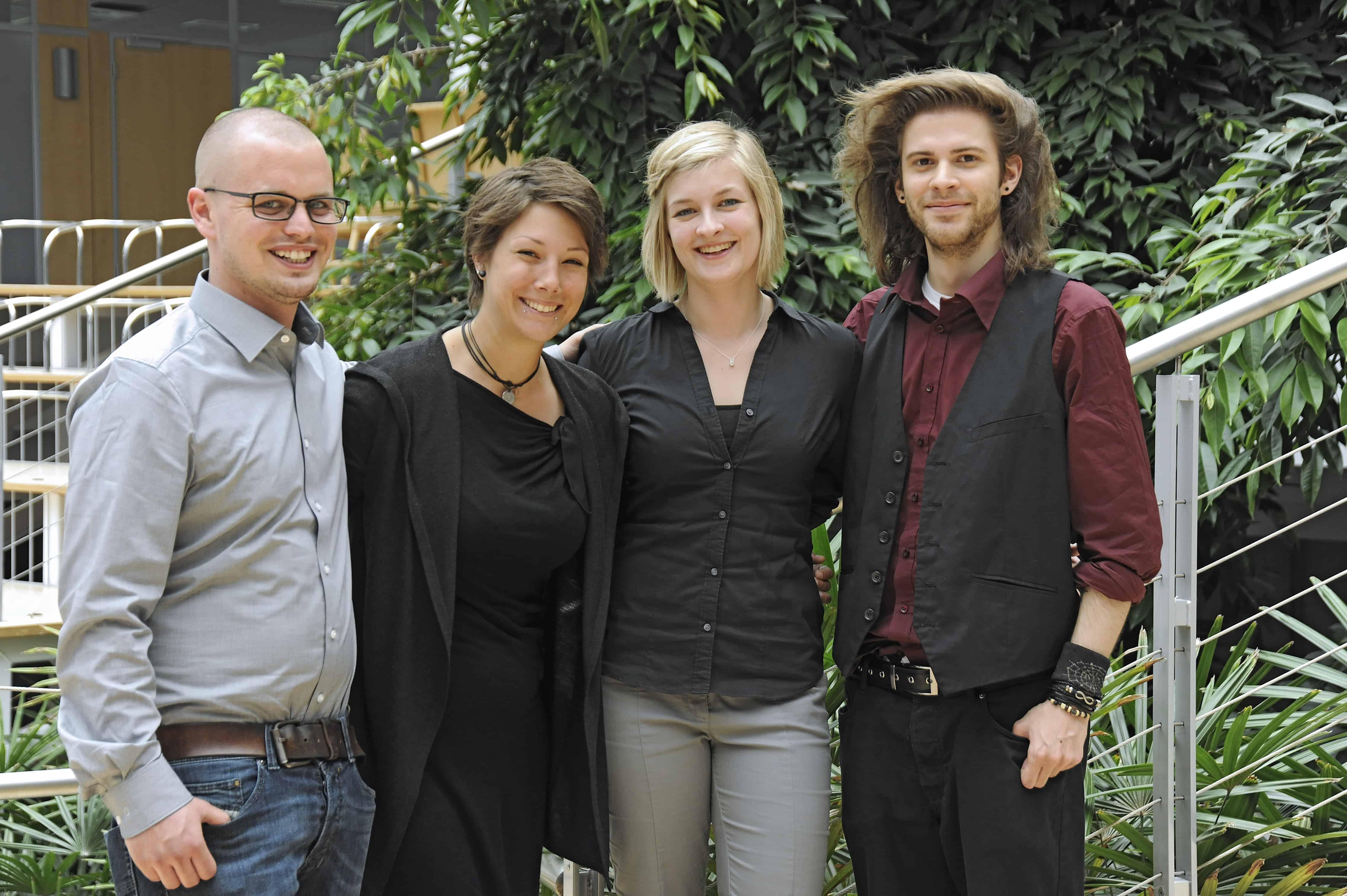 10. TANNER Hochschulwettbewerb Team Aalen Gruppenbild