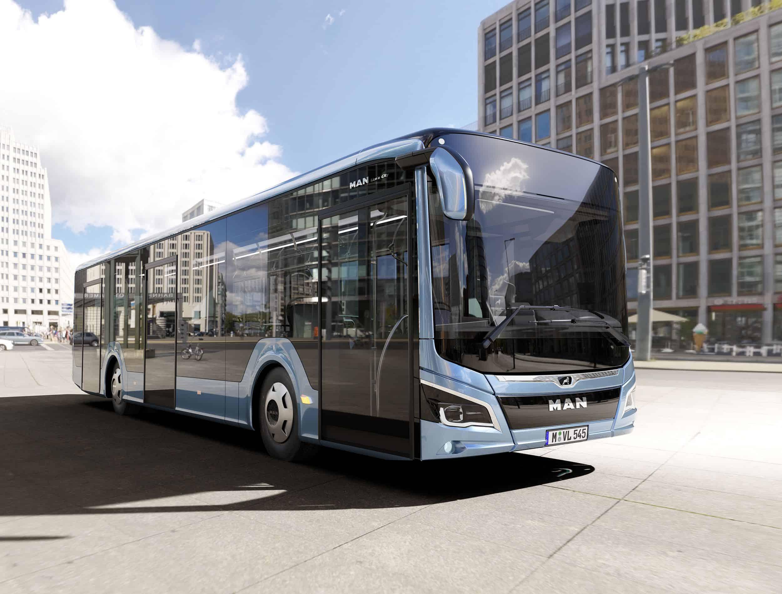 Bus von MAN