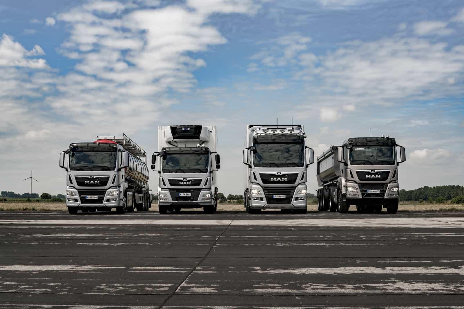 LKW Trucks von MAN