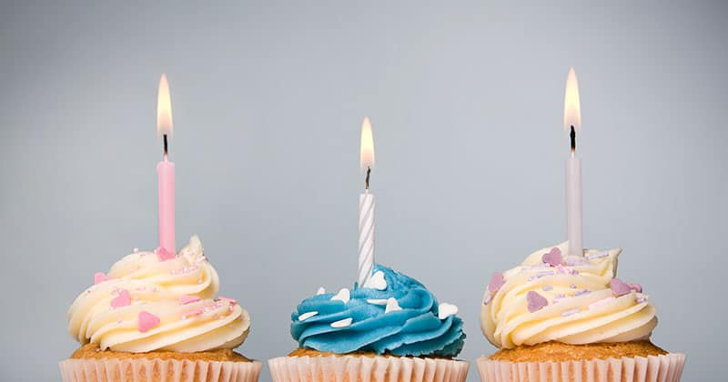 Cupcakes zum 30. Geburstag von TANNER