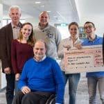 TANNER-Mitarbeiter bei den Spendenübergabe 2018