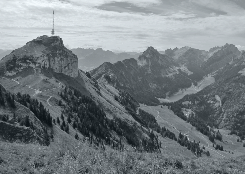 Schweiz Berge Hoher Kasten