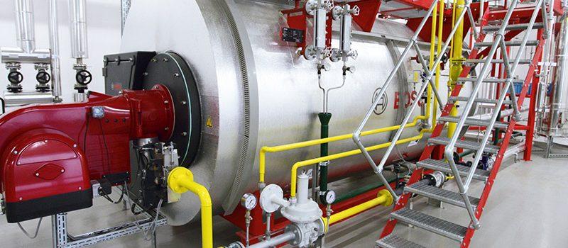 Bosch Dampfkesselanlage