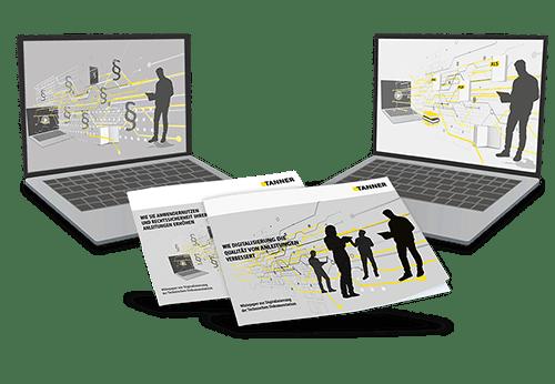 Grafik Whitepaper und Webinare Digitalisierung Technische Dokumentation