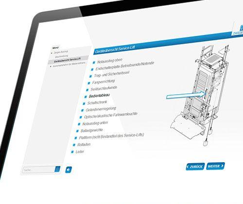Kundenprojekt Technische Dokumentation Zarges
