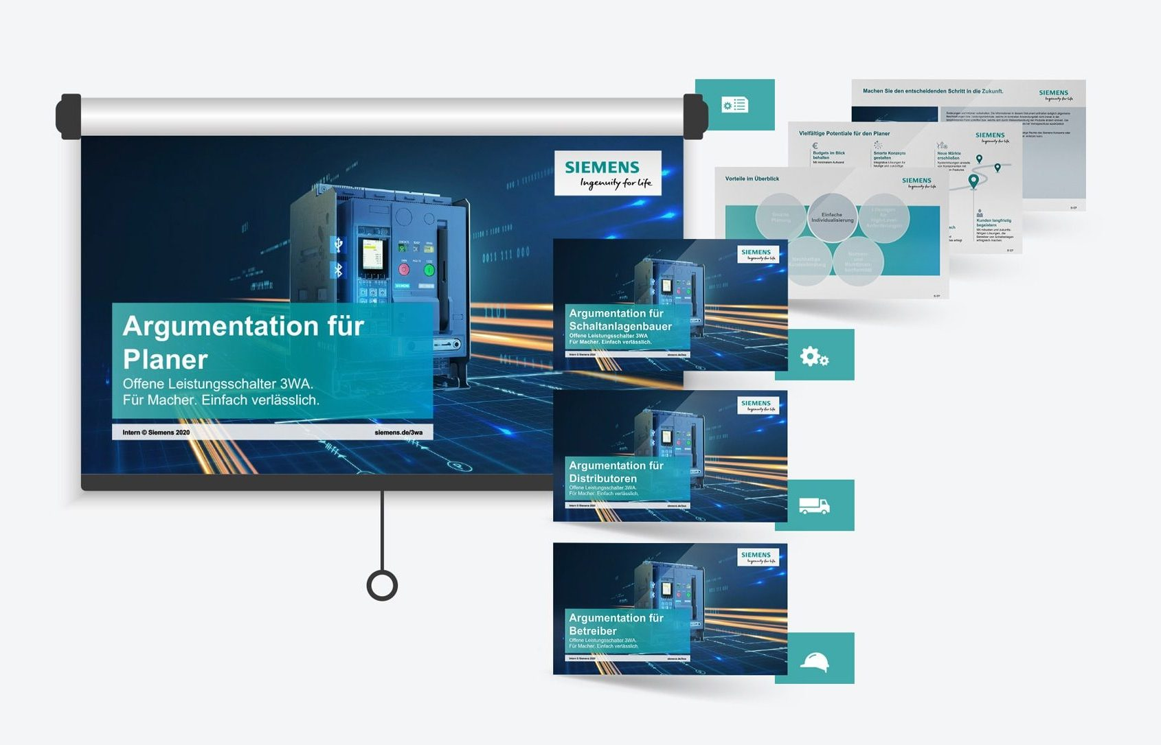 Siemens-Präsentationen